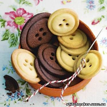 Печенье пуговички рецепт с фото