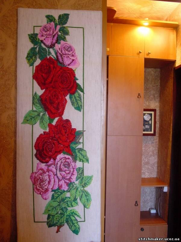 Размер готовой цветочной