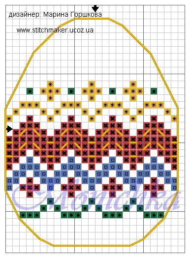 Схема вышивки. Источник: