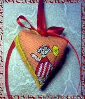 """СХЕМА 1. категория - бискорню предлагаю схему для вышивки пендибуля  """"Овечка """", разработанного по мотивом авторской..."""